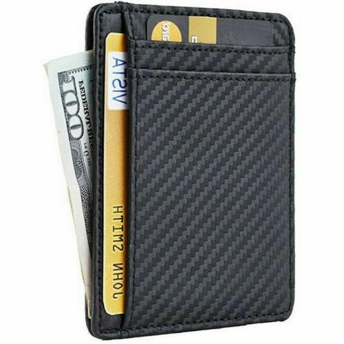 Mens Business Case Front Pocket