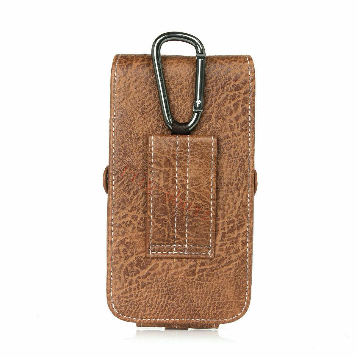 Mens Waist Bag Loop Leather Carry Holster Wallet Pouch