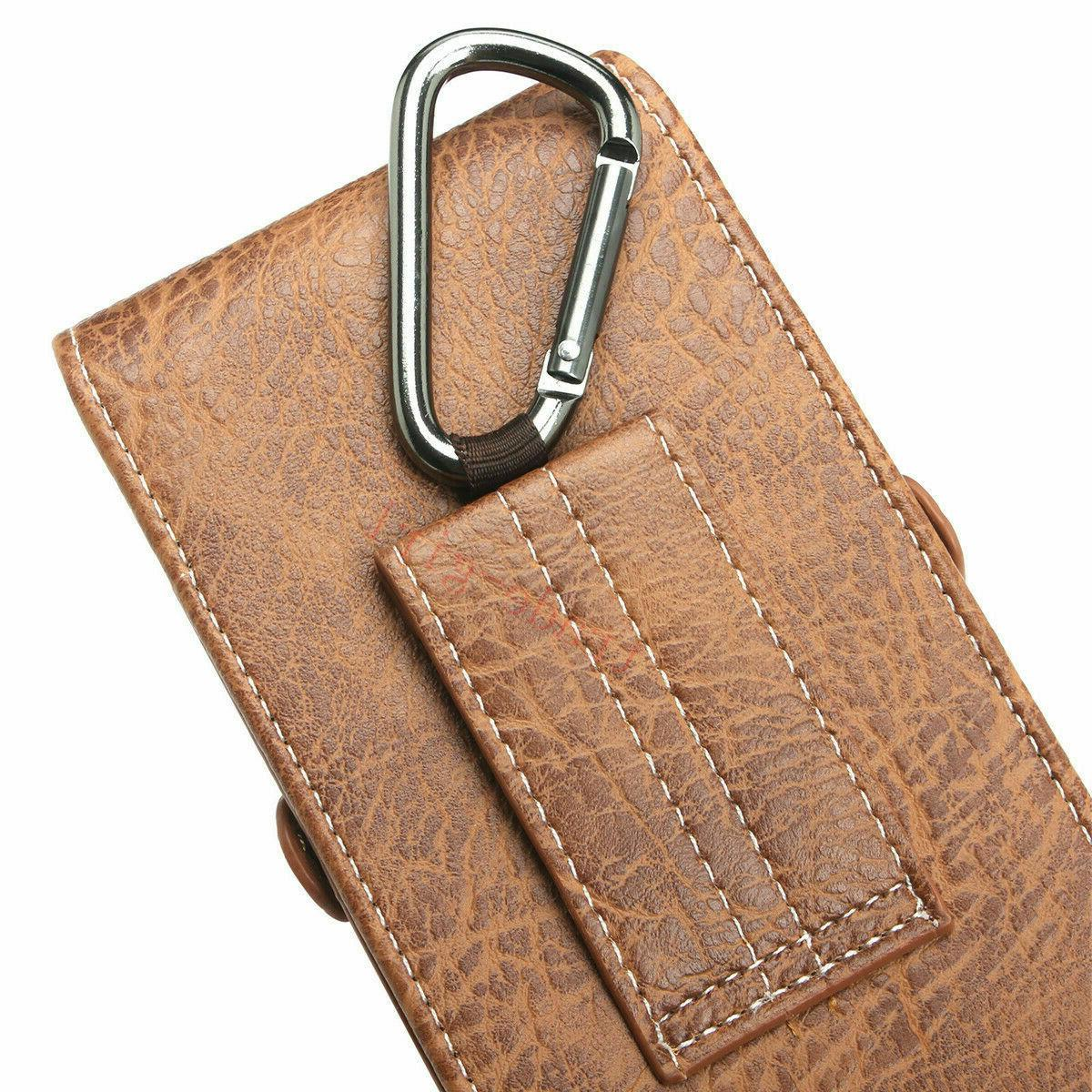Mens Loop Carry Holster Wallet Phone Pouch