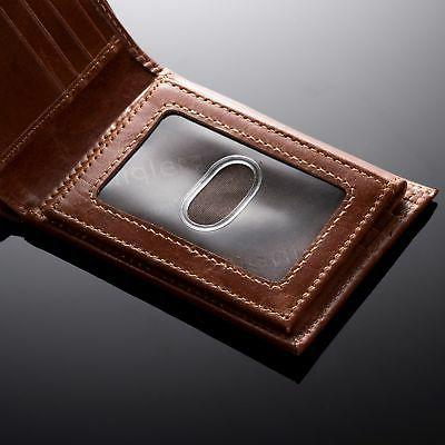 Alpine Swiss Genuine Leather Removable ID Card Case Passcase