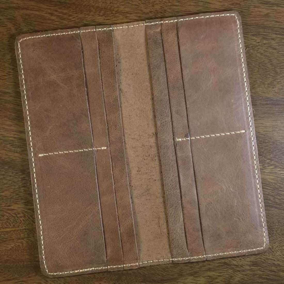Men's Wallet Real Genuine Leather Business Card