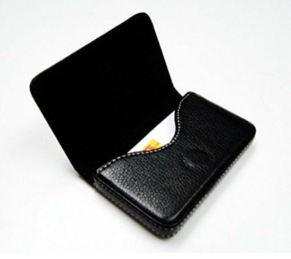New PU Leather Business ID Credit Card Wallet