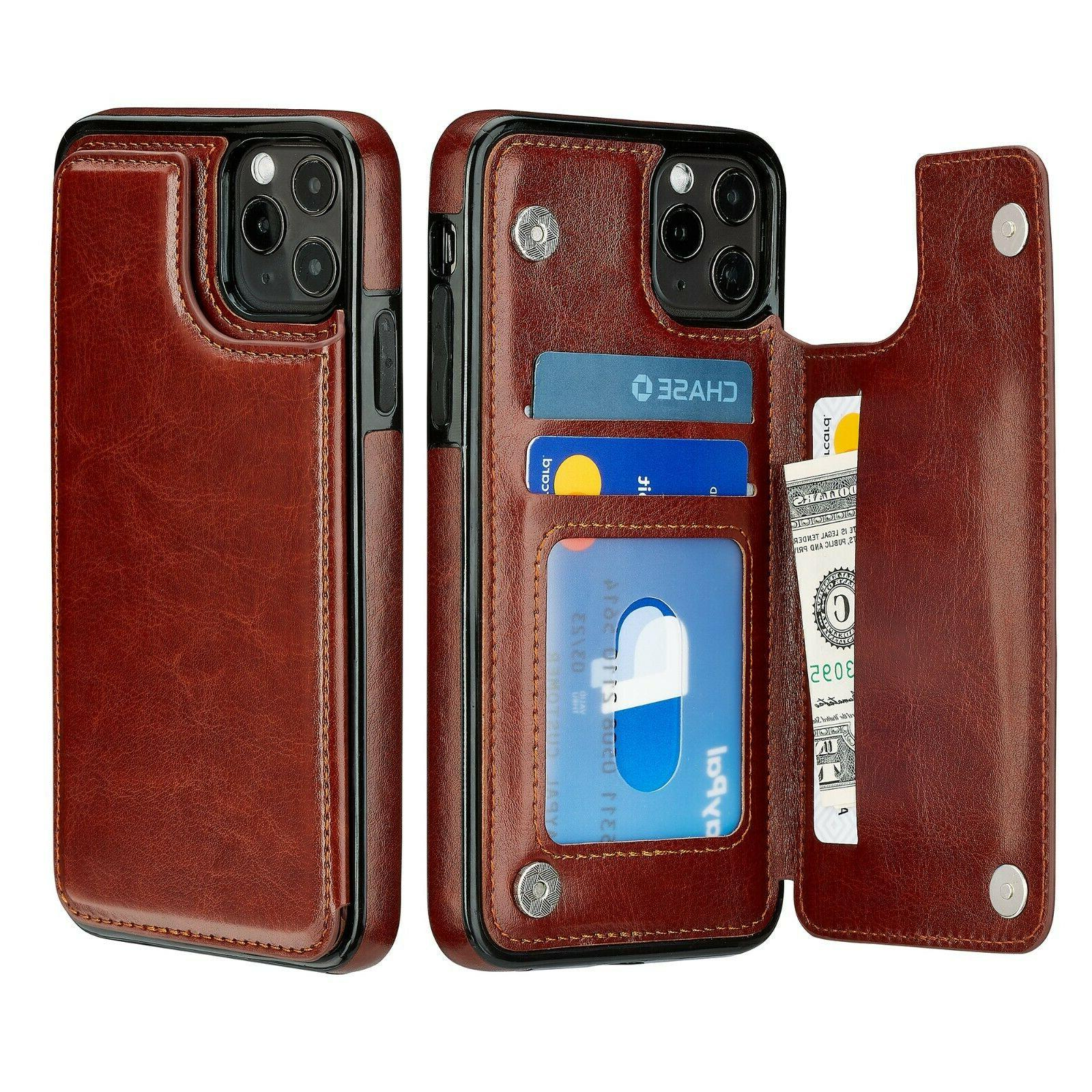 iPhone 12 / Pro Leather Magnetic