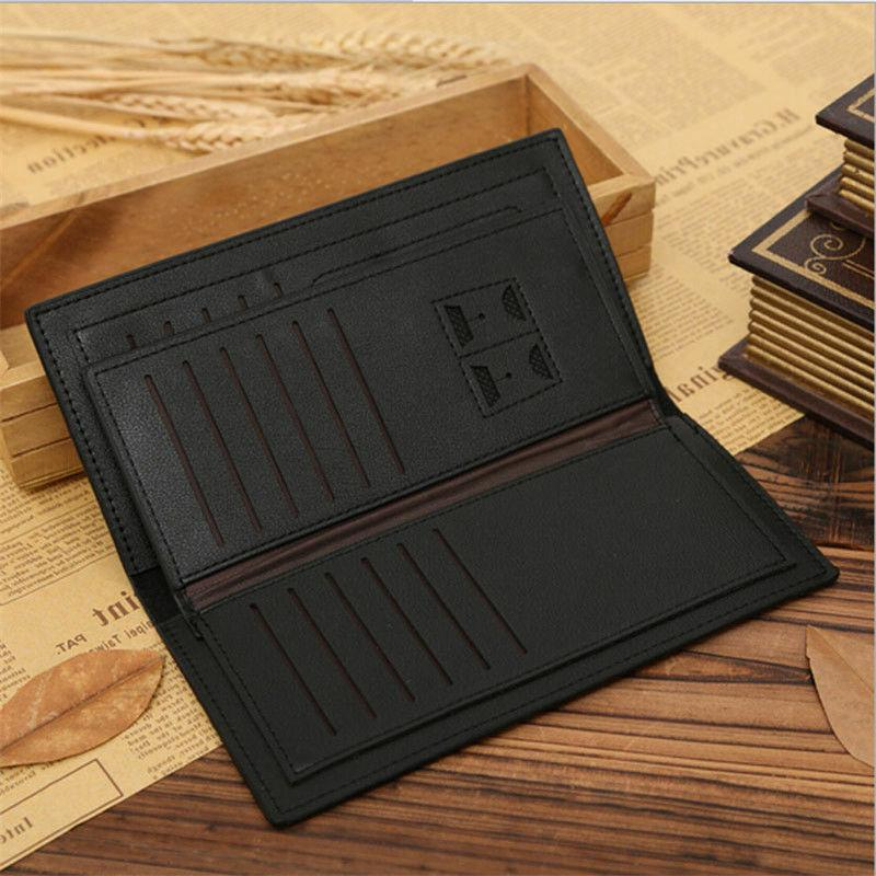 New Leather Wallet Credit Holder Clutch Case