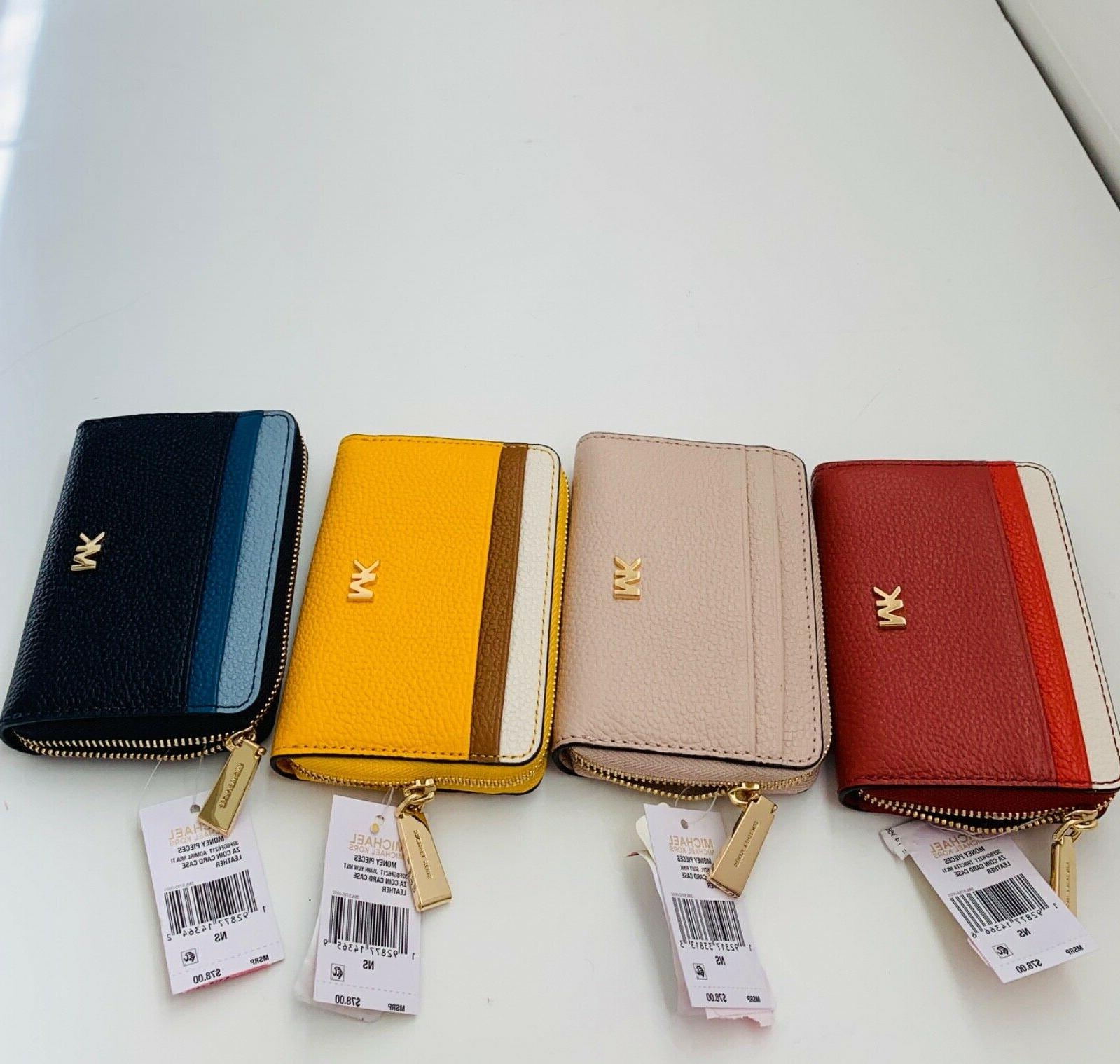 NWT Pieces Around Card Leather