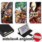 One-Punch Man Anime PU Leather Credit ID Slot Wallet Stand C