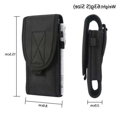 Outdoor Phone Wallet Bag Pouch Vertical Holster Cover