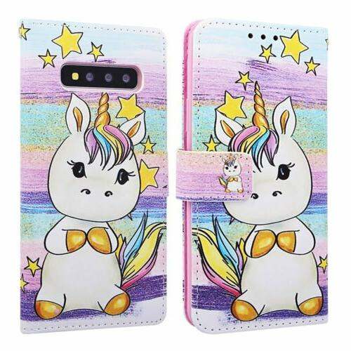 Pattern Leather Case Cover Galaxy A10e A50 A70