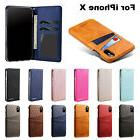 Phone Protection Case Wallet Card Holder BackCover Anti-Knoc