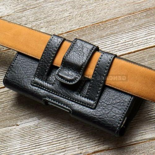 Pouch Case Leather for Phone Wallet Clip Case