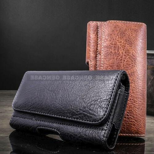 pouch case leather holster for cell phone