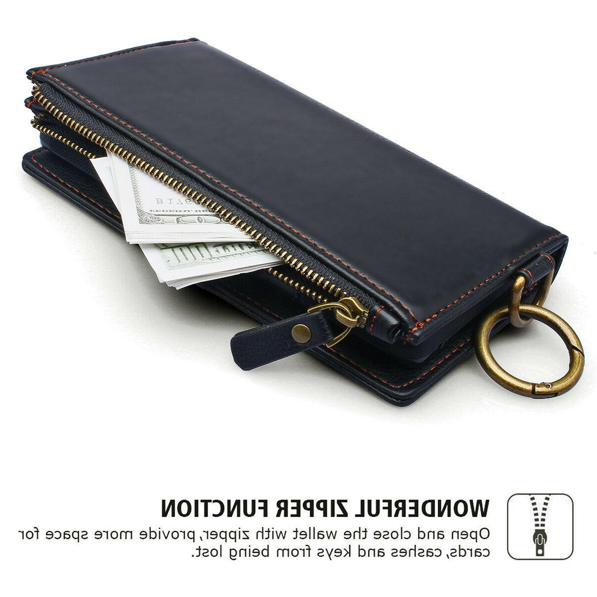 360° Full Protective RFID Leather Case
