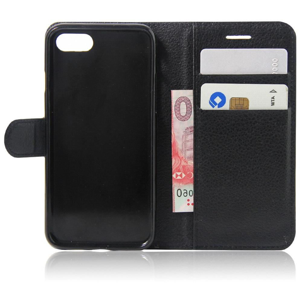 PU Flip For 8 6S 5S 5 4S funda Cover <font><b>Case</b></font> for XR X pro Max