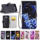 pu leather wallet kick stand case cover