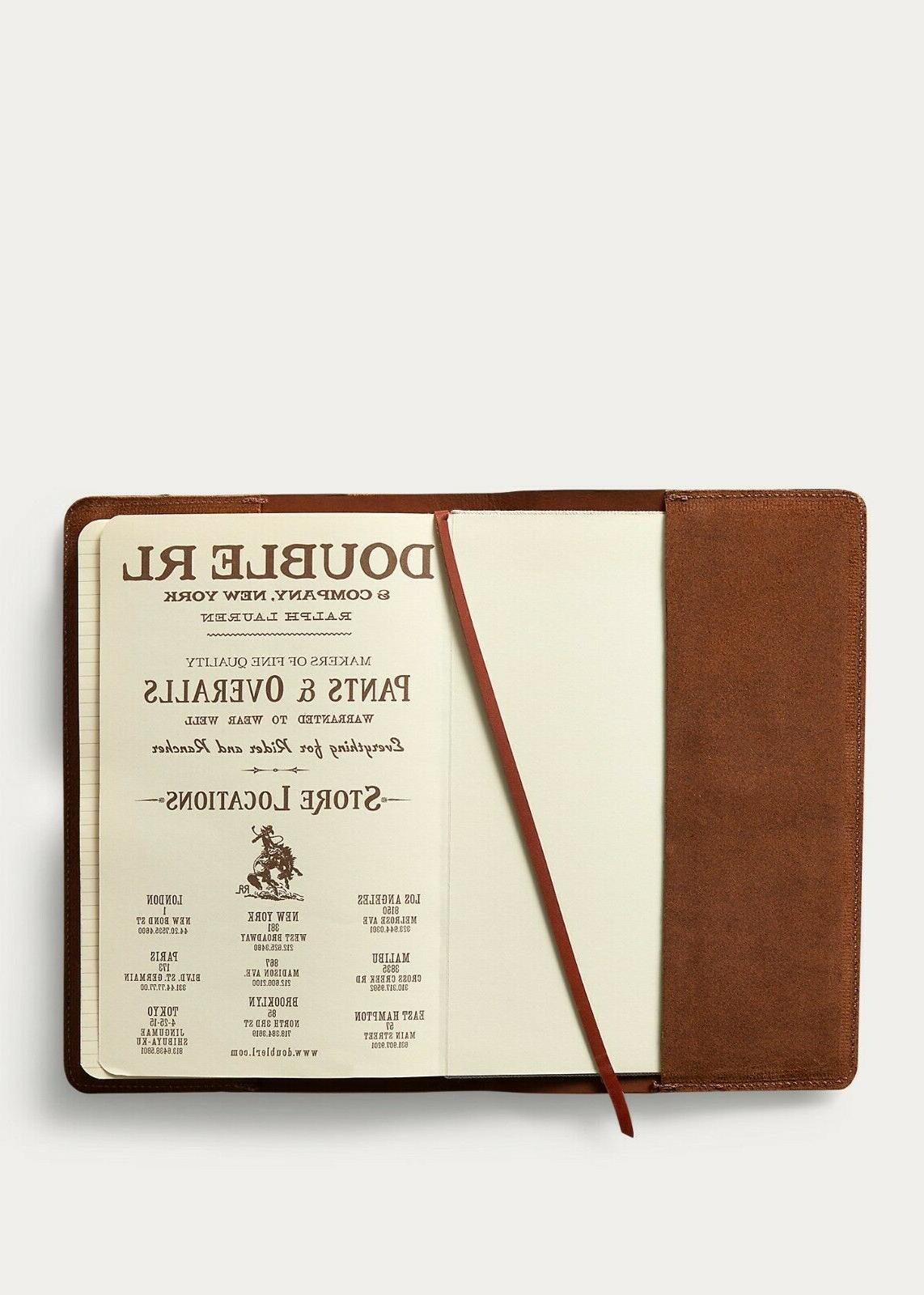RRL Ralph Lauren in Roughout Leather Notebook LAST ONE