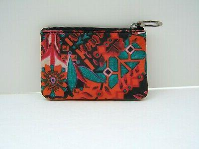 Fossil Floral Skinny Coin Wallet