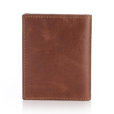 Alpine Slim Business Card Case Leather Front Pocket Wallet