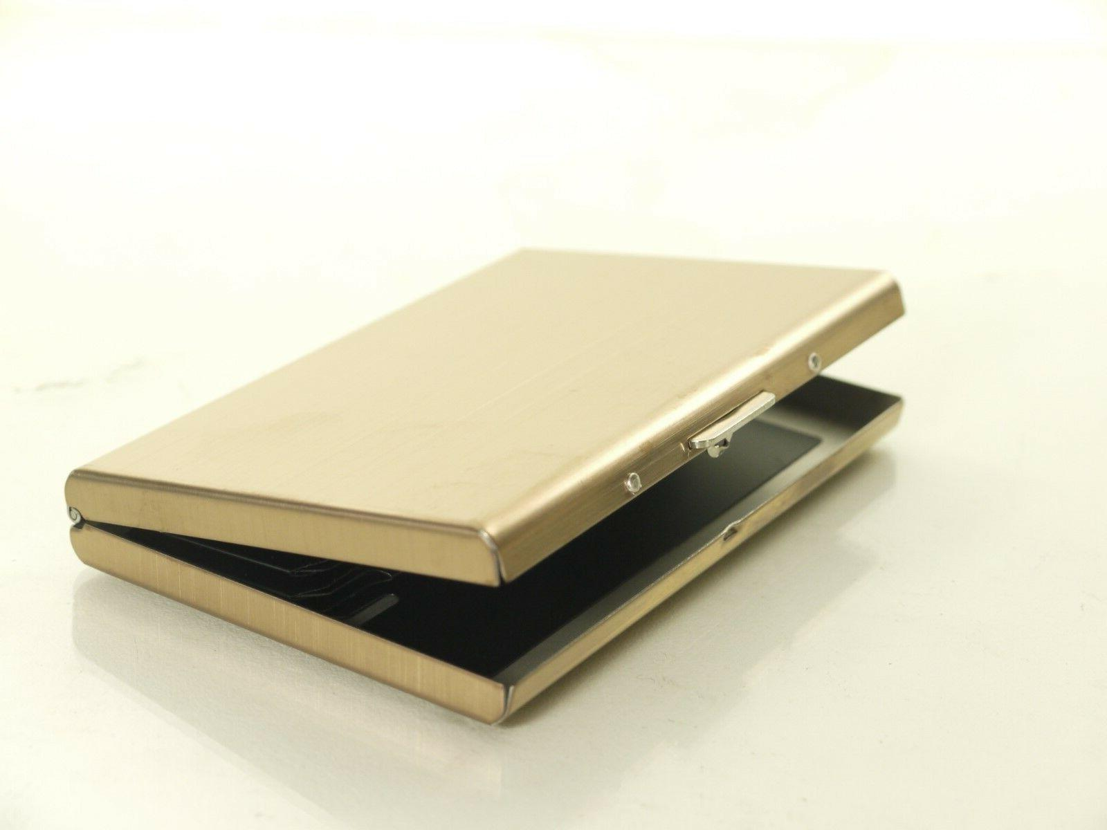 Rfid Credit Crd Holder Protector Stainless Steel Credit Card
