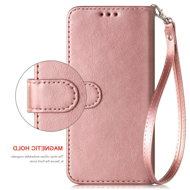 For Samsung A10e A20 Leather Magnetic Wallet Case