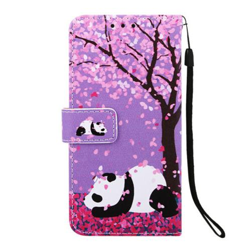 For Samsung Flip Card Case Cover