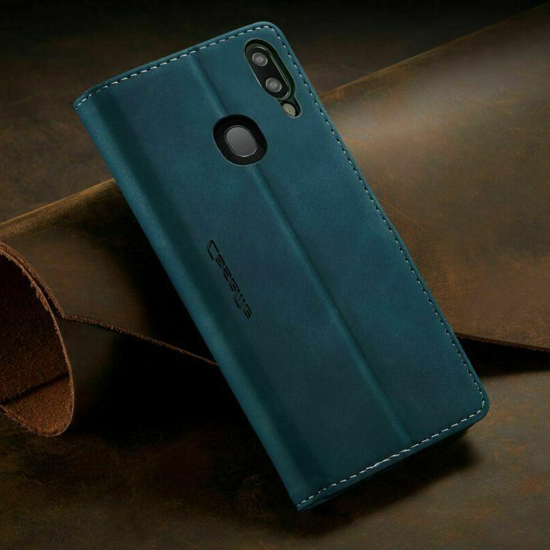 For Galaxy A20 A30 A50/51 Leather Phone Cover