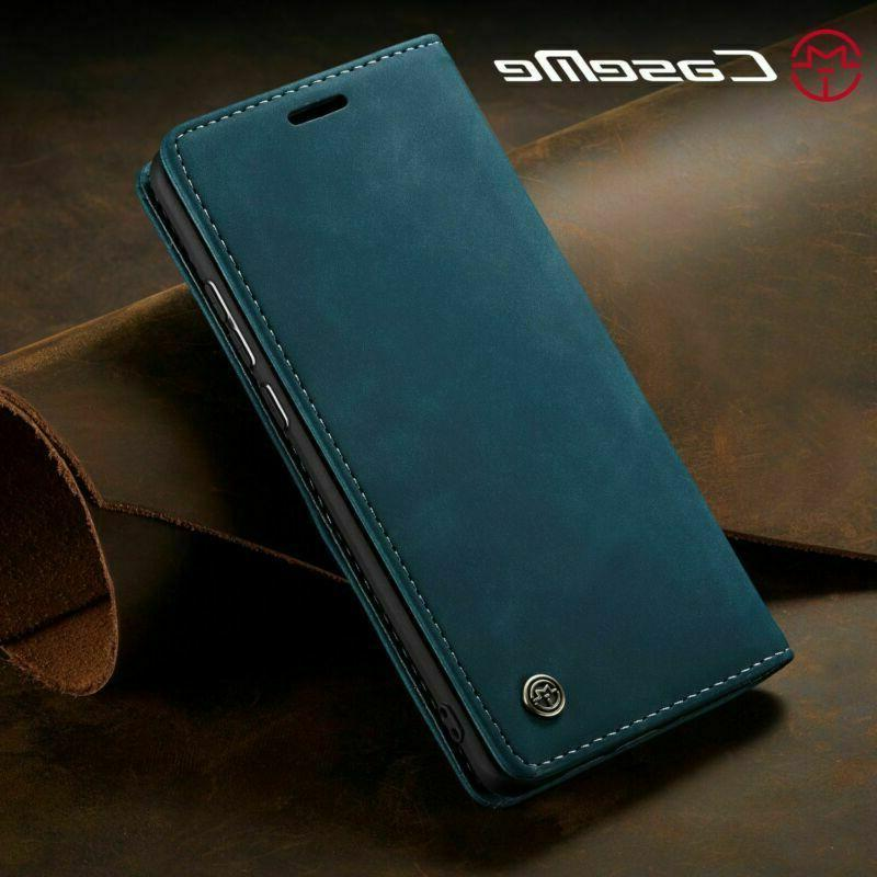 For Samsung A30 A70 Flip Leather Cover