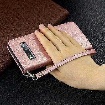 For Samsung A70 A30 A10 Magnetic Leather Flip Wallet Case
