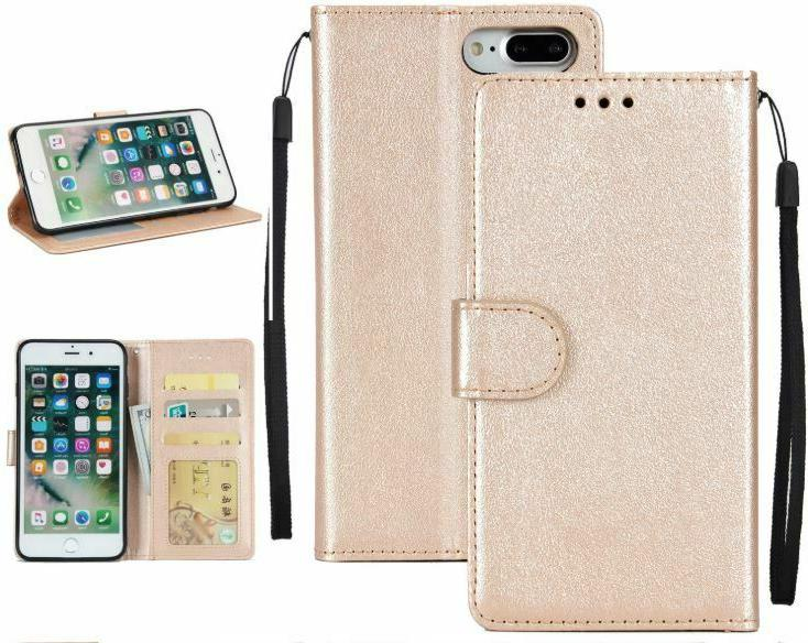 For 7 8 Plus Flip Case Stand Cover