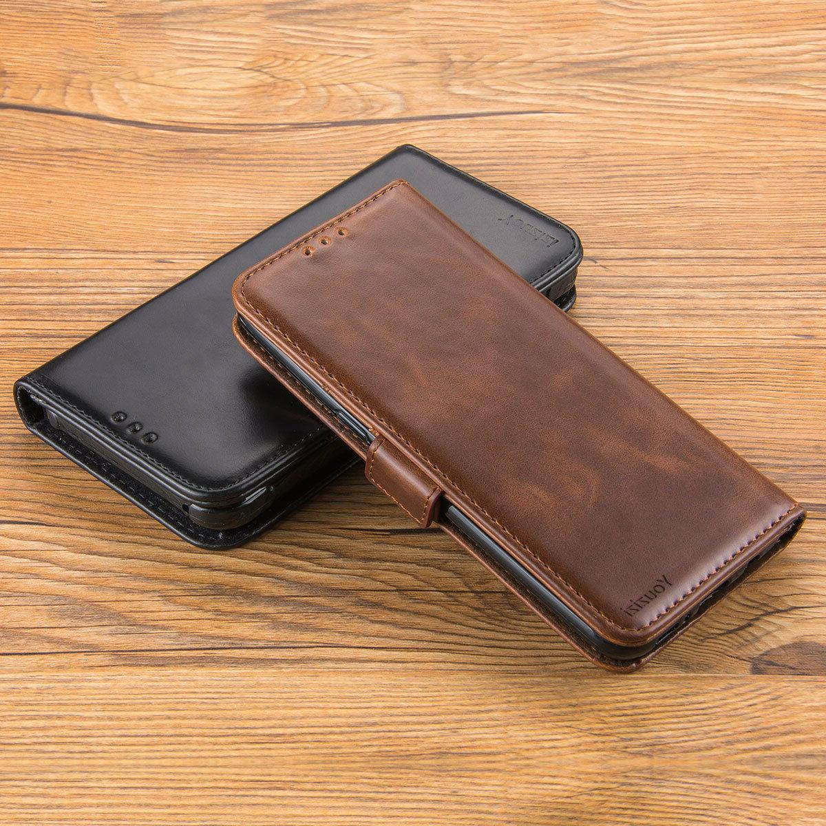 For 2017 Sky Leather Flip Wallet Cover