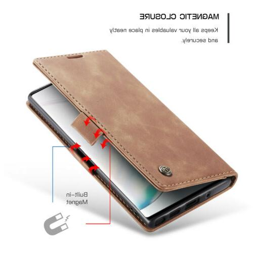 For 10 5G Leather Magnetic Case