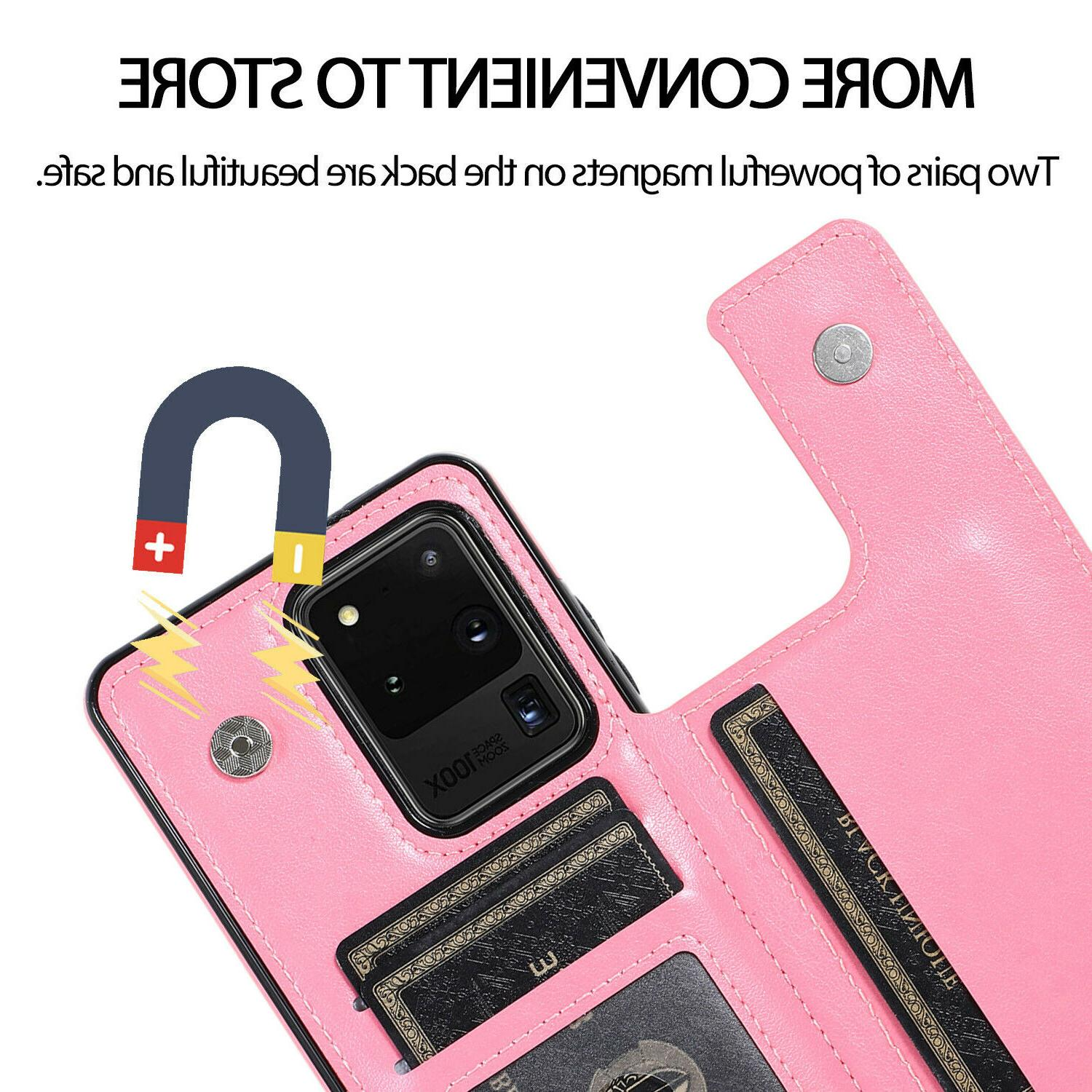 For Samsung Note 10 Plus Magnetic Cover