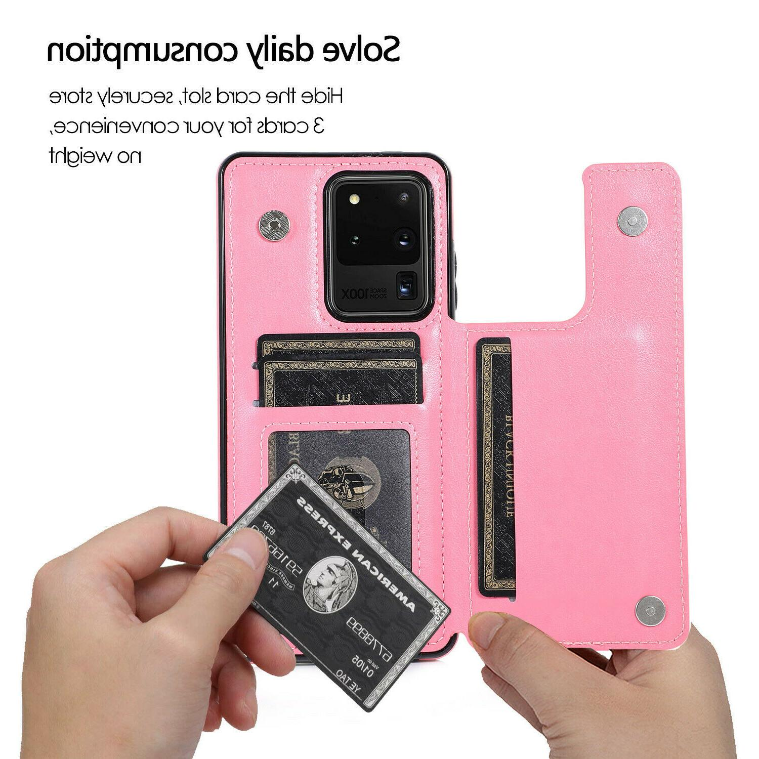 For Samsung Galaxy 10 S20 Magnetic Cover