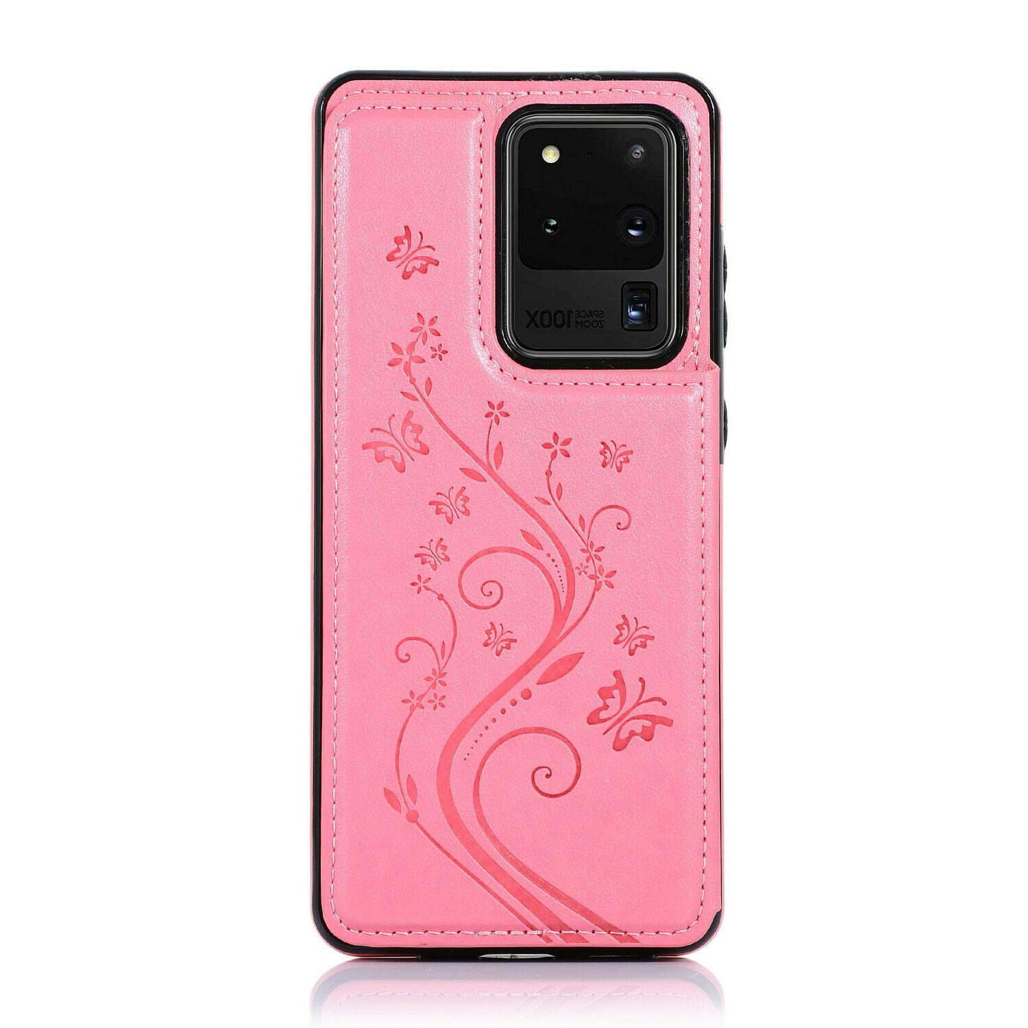 For Samsung Galaxy 10 Magnetic Leather Cover