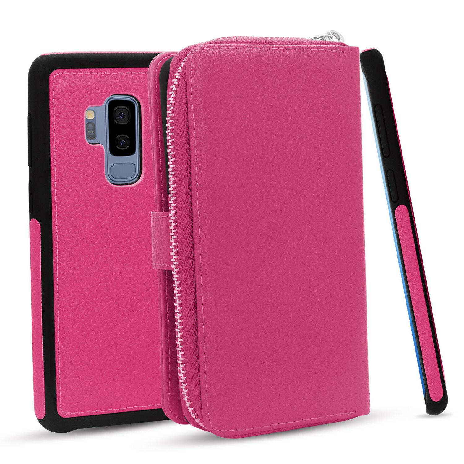 for Samsung Note 8 Case Zipper Wallet Cover