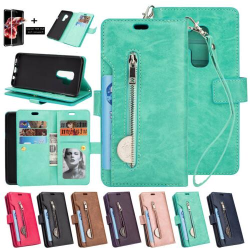 For Samsung Galaxy Note 9/S9+ Flip Leather Wallet Stand Card