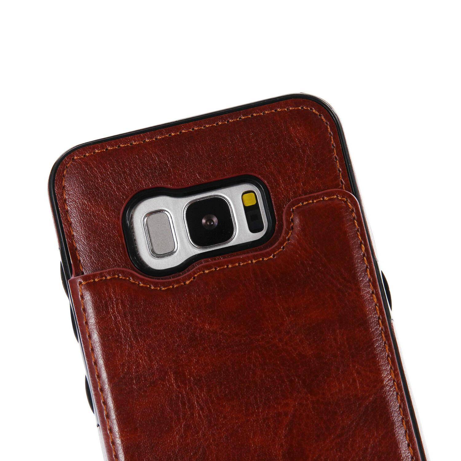For Samsung Note 9 S9 / Flip Leather Wallet