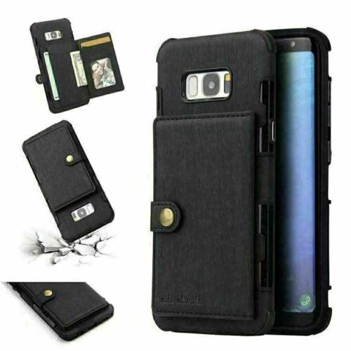 For Galaxy S20 Ultra Plus NOTE 8 Case Wallet Card