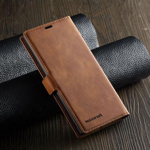 For Galaxy Note 10 Leather Case Card Pocket Cover