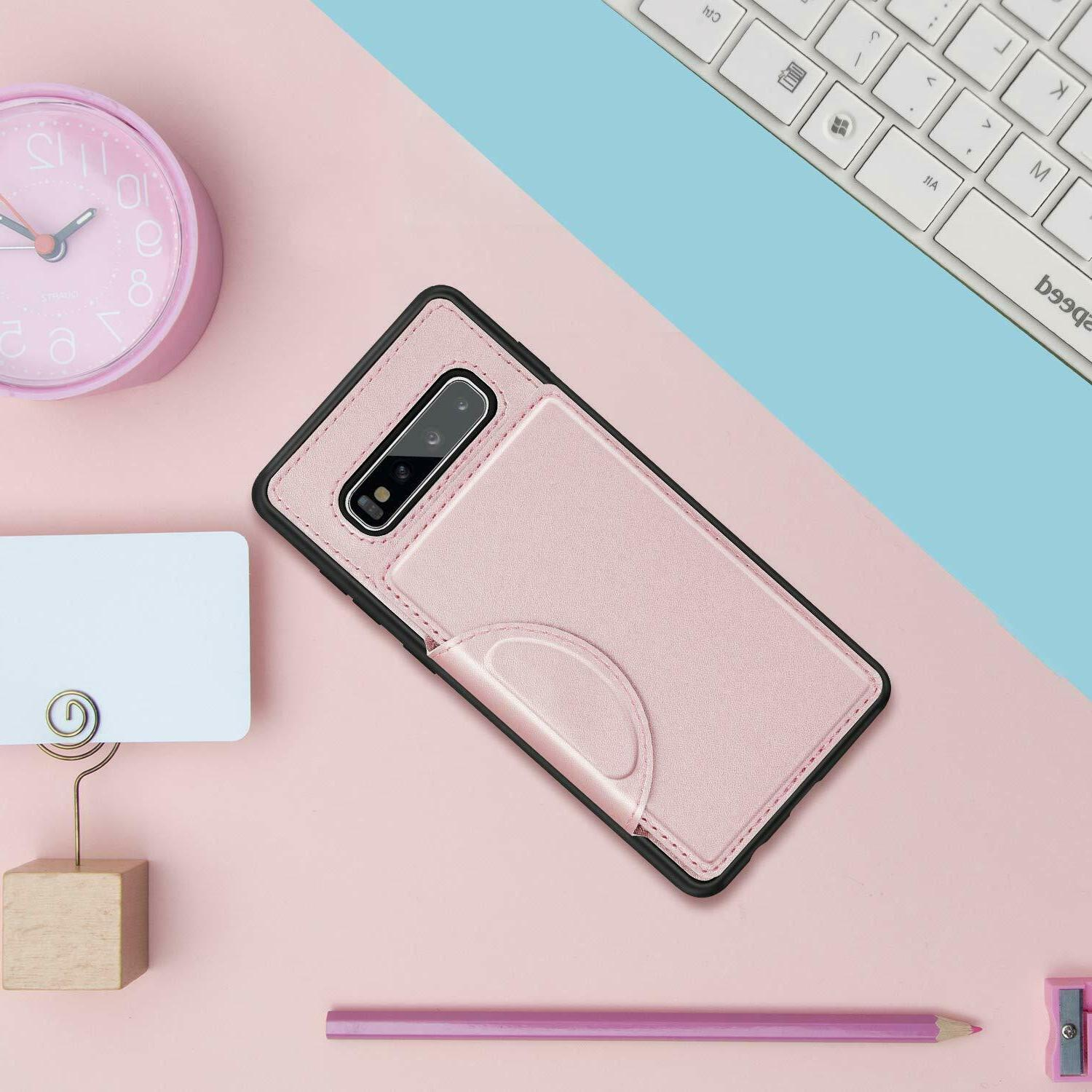 For Galaxy / S10 Case Shockproof Slots