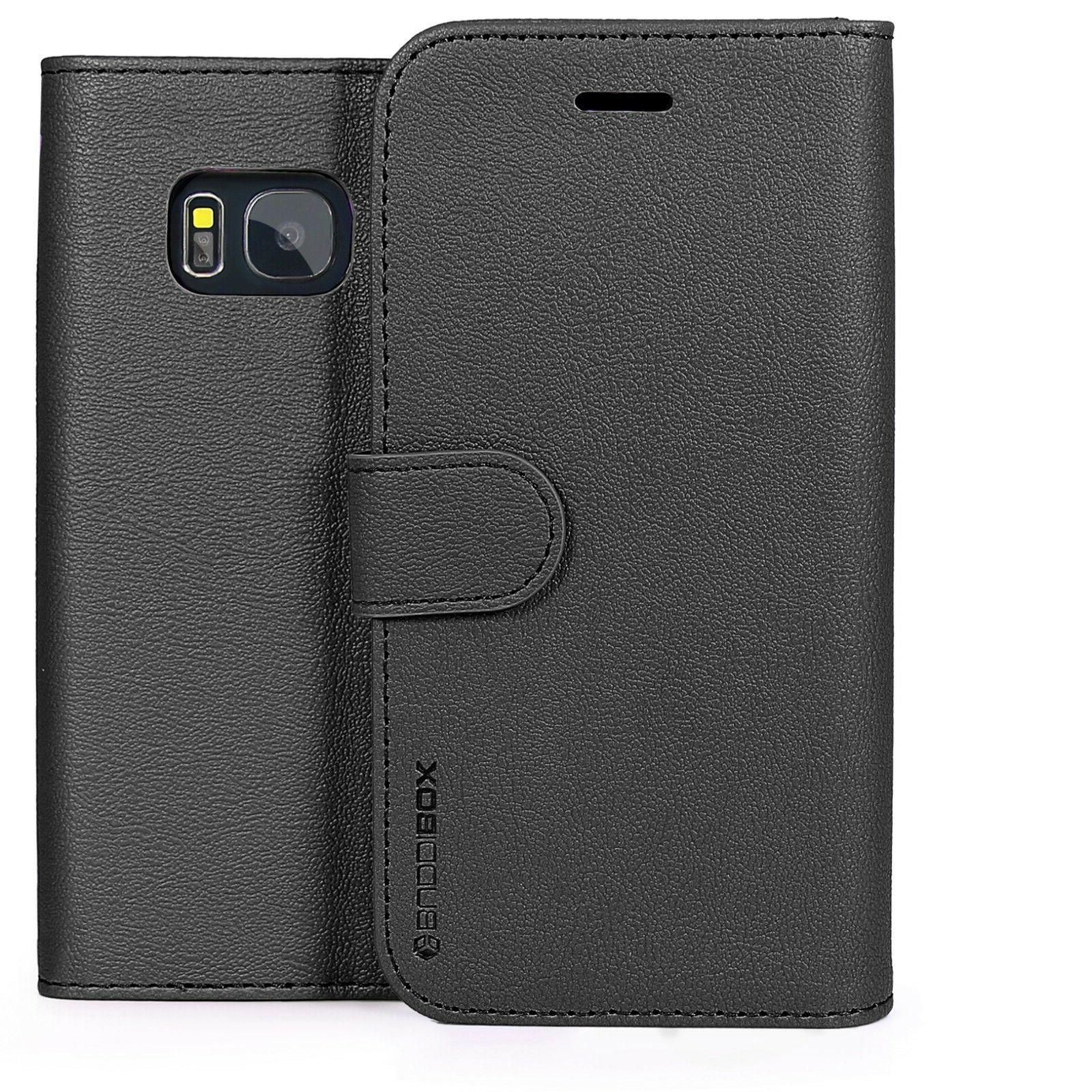 for Samsung Galaxy S7 Case BUDDIBOX Premium Leather Card Slo