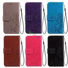 For Samsung Galaxy S7 Edge J1 Ace Leather Wallet Card Holder