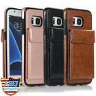 For Samsung Galaxy S7 Edge Leather Wallet Card Slot Case Not