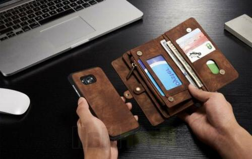 Samsung Galaxy S7/S7 Leather Flip Card Cover