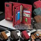 Samsung Galaxy S7/S7 Edge Leather Removable Wallet Magnetic