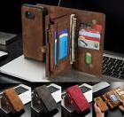 Samsung Galaxy S7/S8 Plus Leather Removable Wallet Magnetic