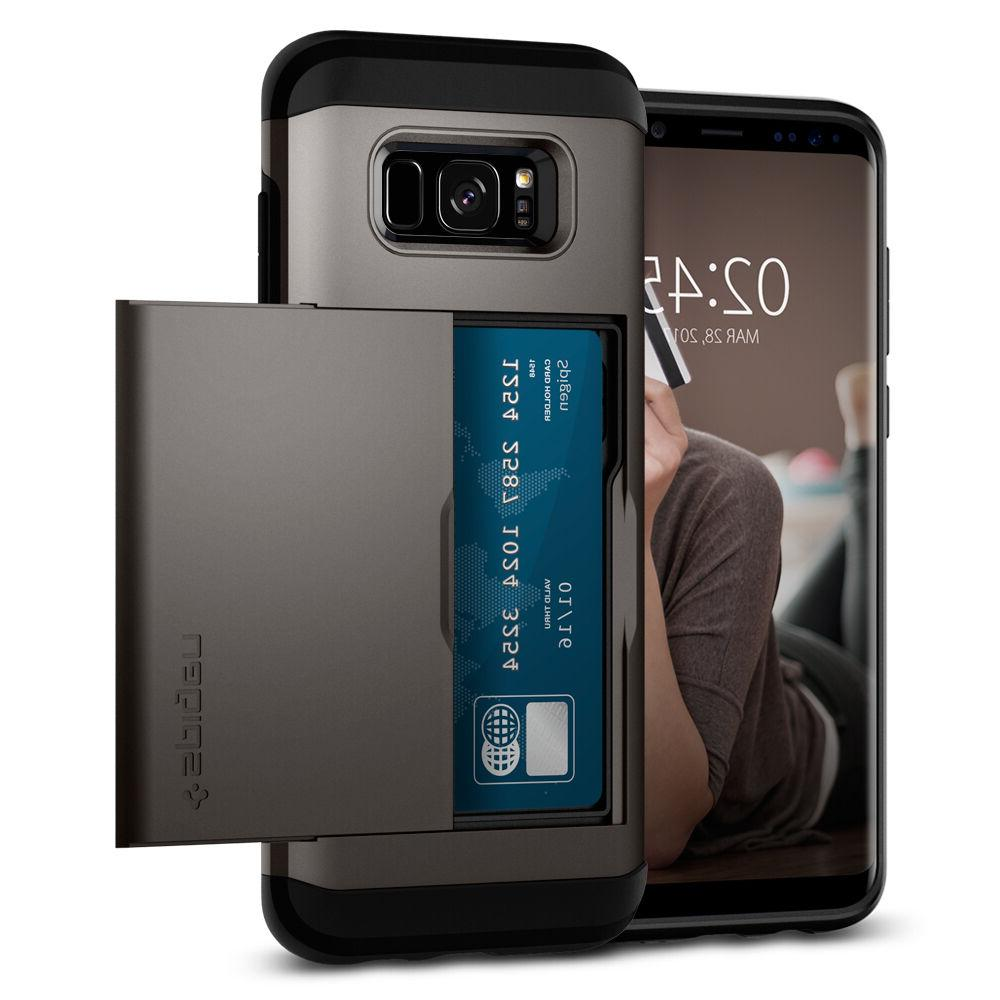 Spigen® Samsung Galaxy S8 / S8 Plus  Shockproof Wallet Case