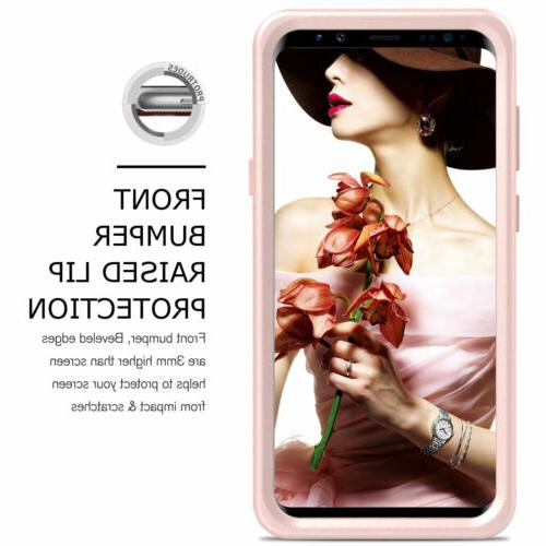 For S8 S9 Plus 360° Shockproof Mirror Case