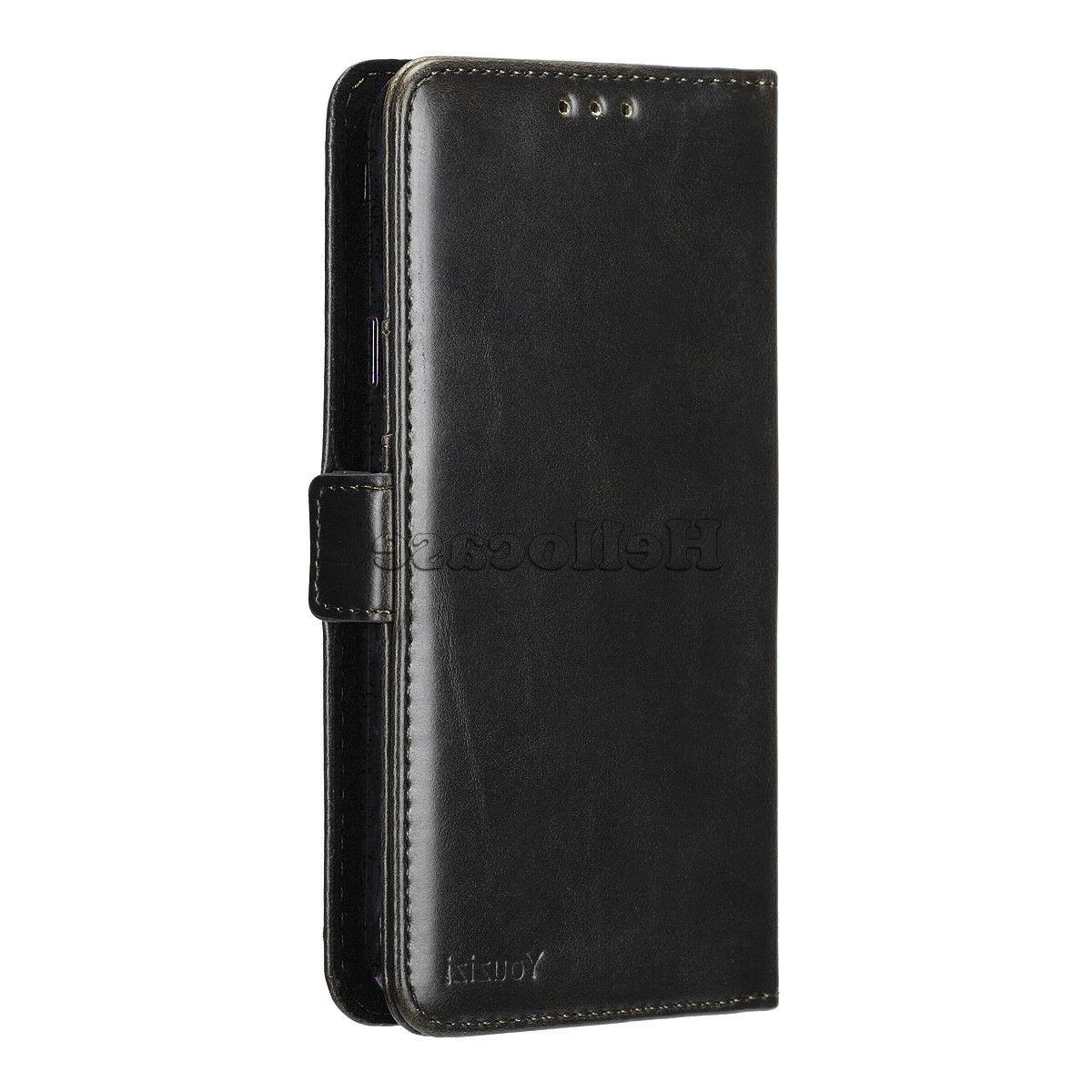 For Samsung GALAXY / S9 Note 9 Leather Flip Fold Wallet