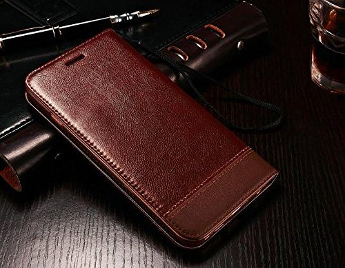 Samsung Galaxy Plus S8 Plus Leather Case Multi Holders Photo Slot Cover Wallet