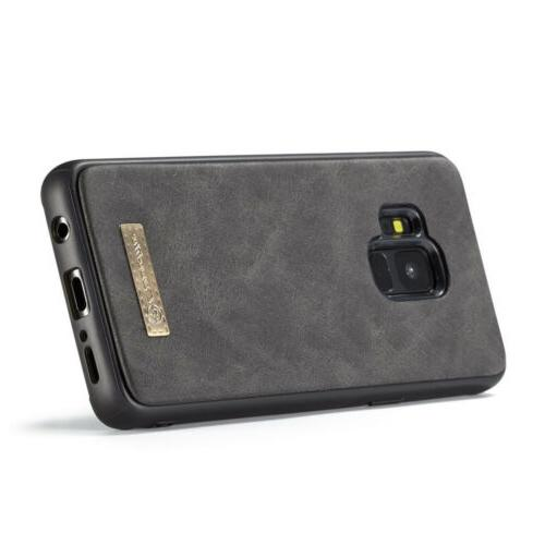 For Galaxy S8 Plus Protective Leather Wallet